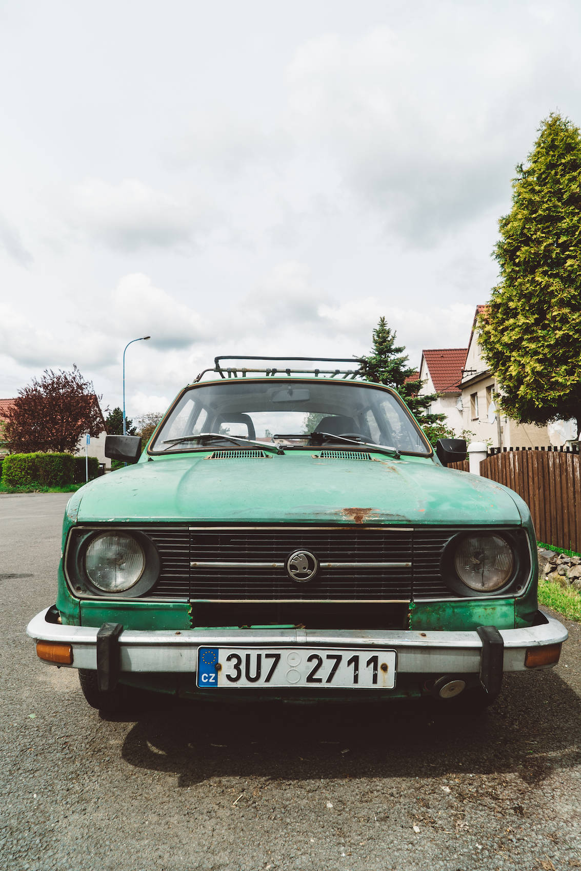 Czech Car from the 70s