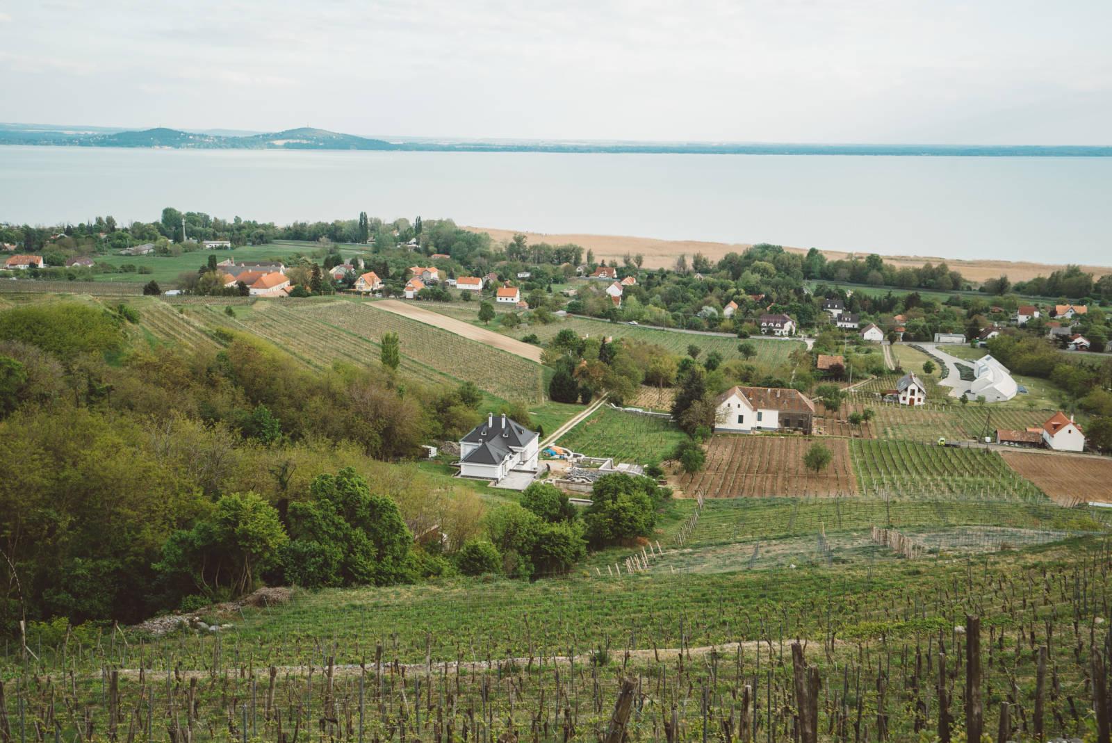 Hungarian Sea Lake Balatan