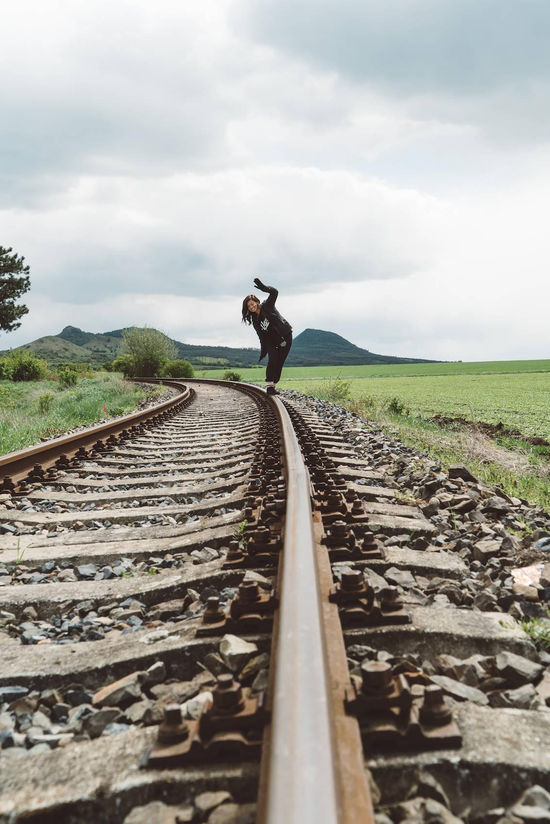 Train Tracks Bohemian Switzerland National Park