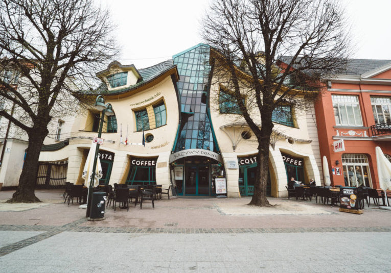 Cricked House in Sopot Poland