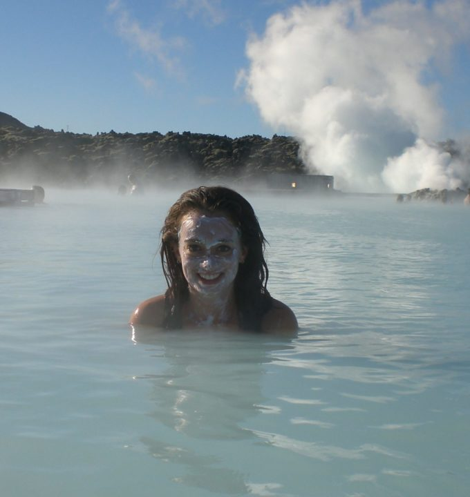 Layover at the Blue Lagoon