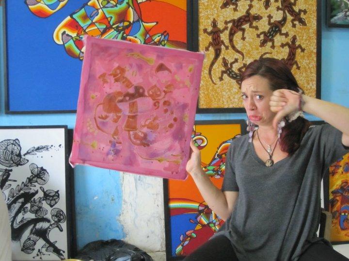Batik Art: Make Sure You Find A Good Teacher