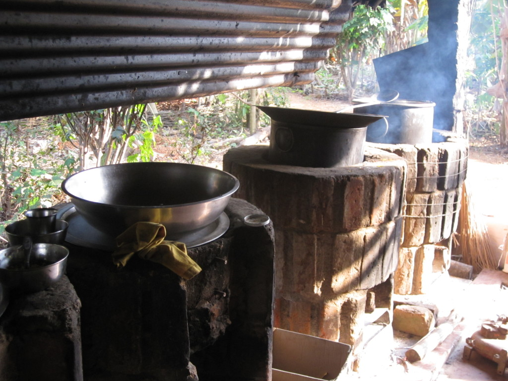 Sadhana Forest India kitchen