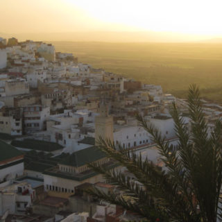 Beautiful sunset in Morocco