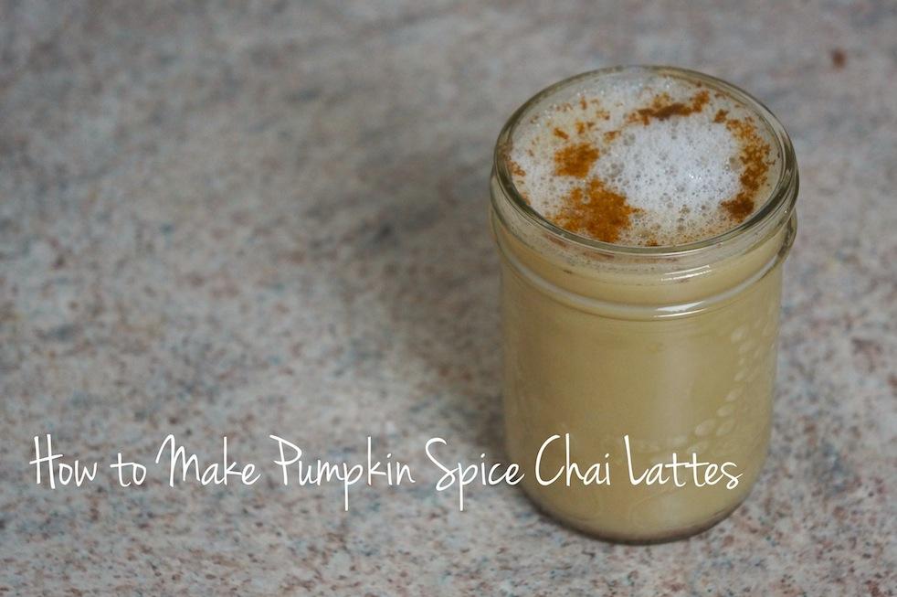Pumpkin Spice Chai Latte2