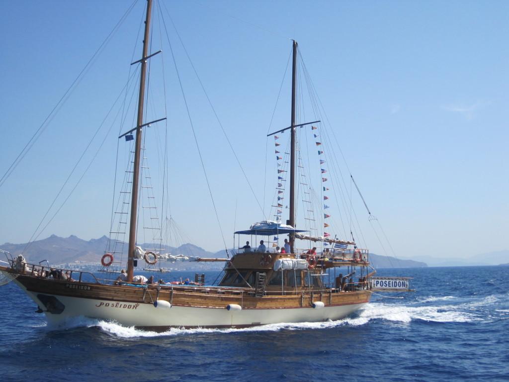 Pirate ship Kos Greece