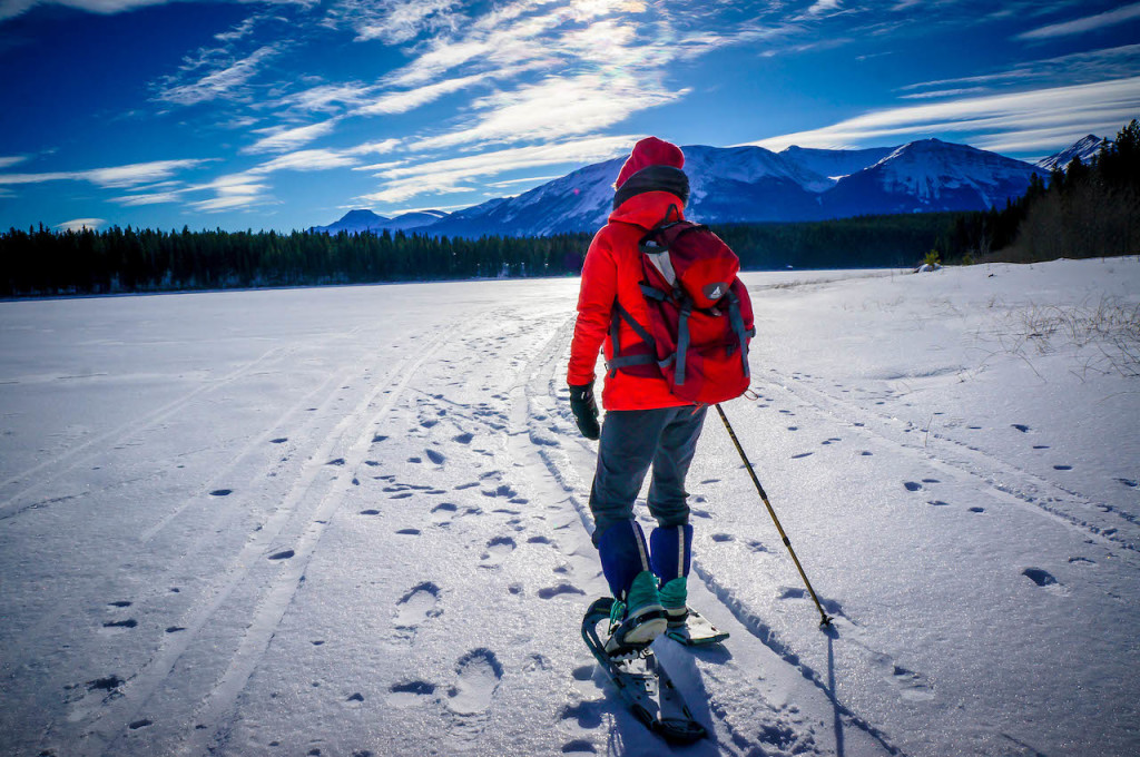 Snowshoeing Jasper