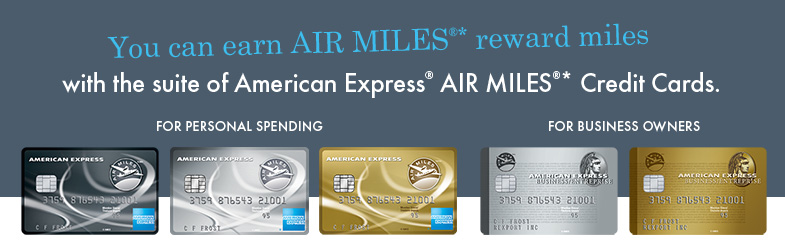 American Express Air Miles Credit Cards