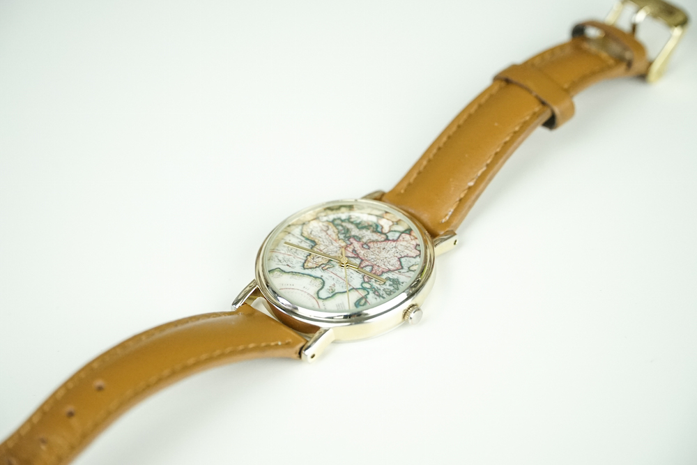 Around the World Leather Watch from Urban Outfitters