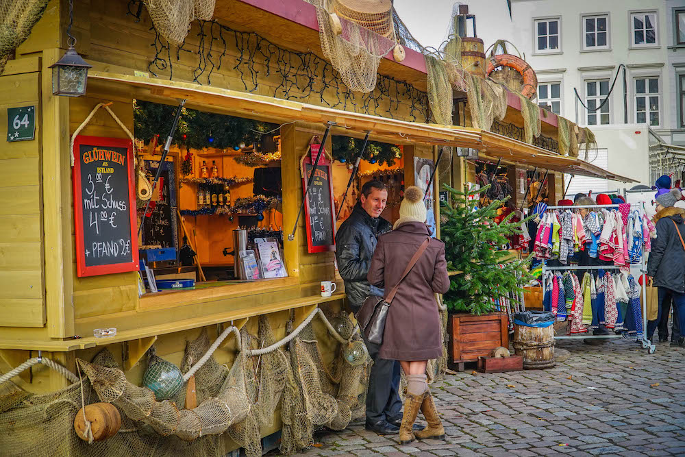Lubeck Christmas Market Germany