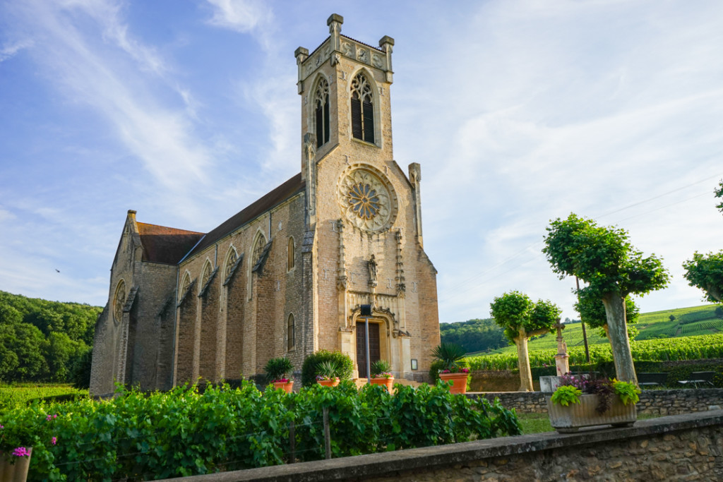 Churches in Burgundy