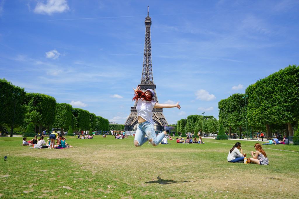 Eiffel Tower Jump