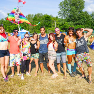 Partying at Electric Forest Festival in Rothbury Michigan