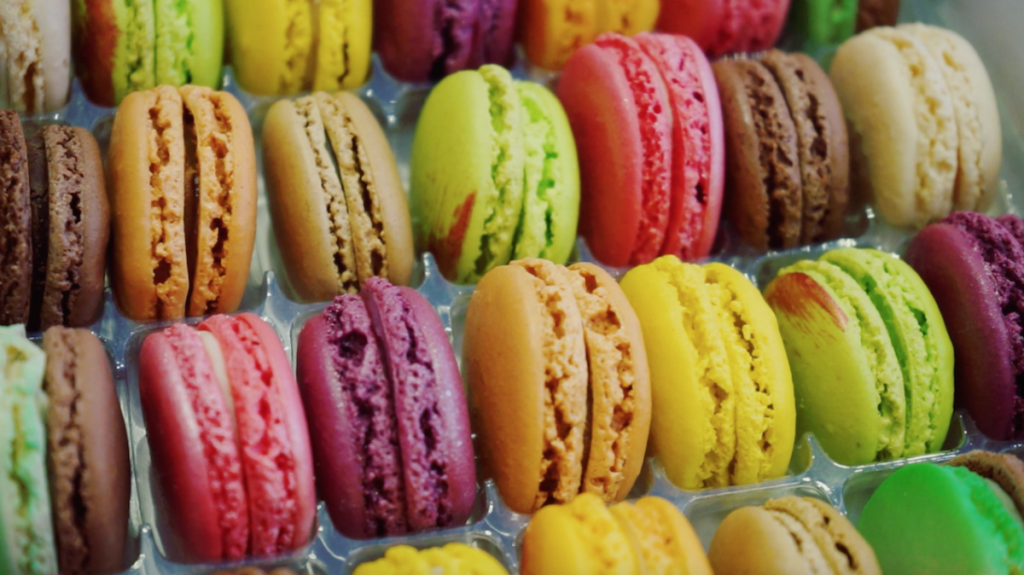 Best Macaroons from Paris France