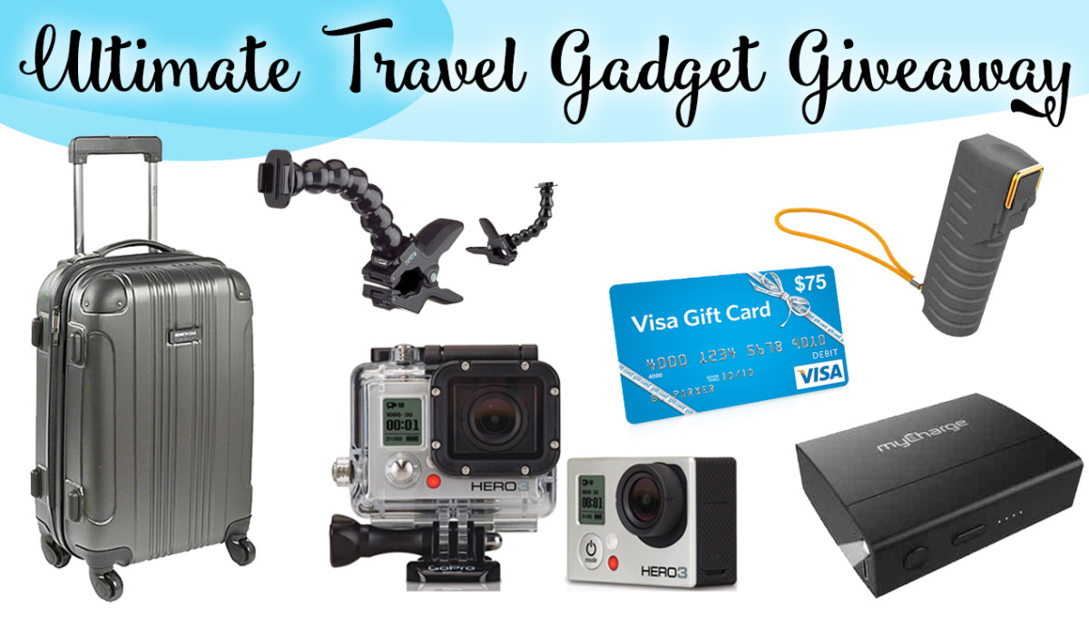 Ultimate Travel Gadget Giveaway ($800 VALUE)