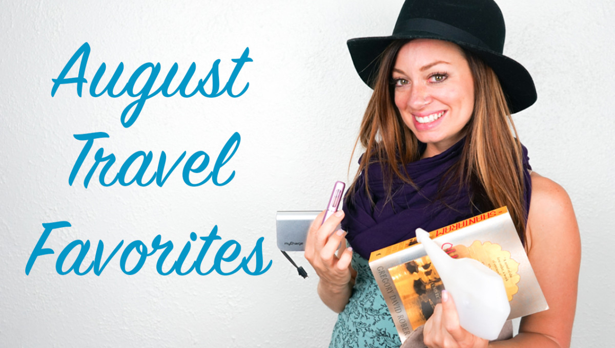 Top Travel Items for August 2015