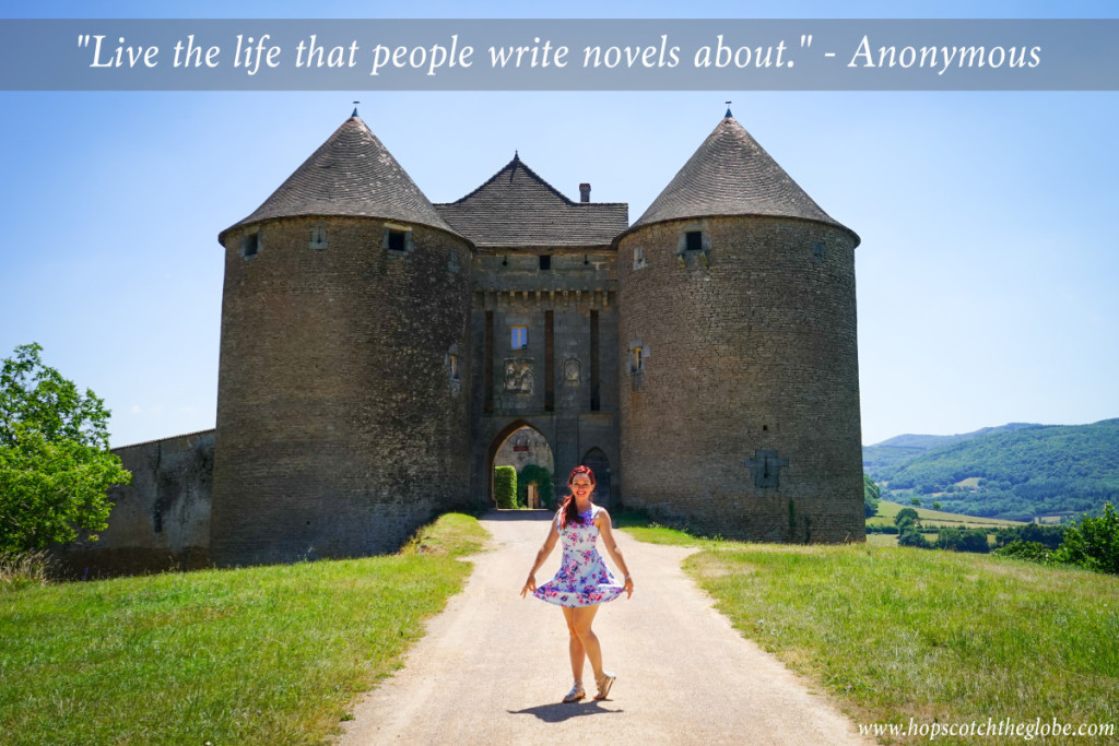 Live the life people write stories about