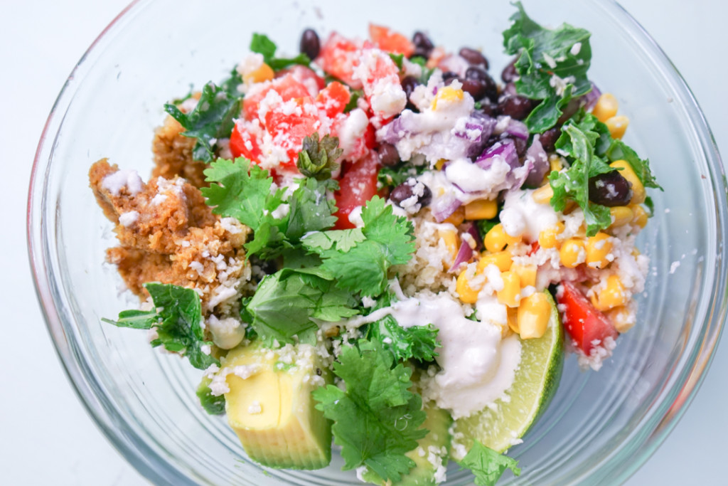 Raw Mexican Glow Bowl