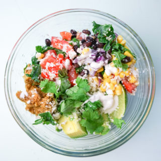 Raw Vegan Mexican Glow Bowl