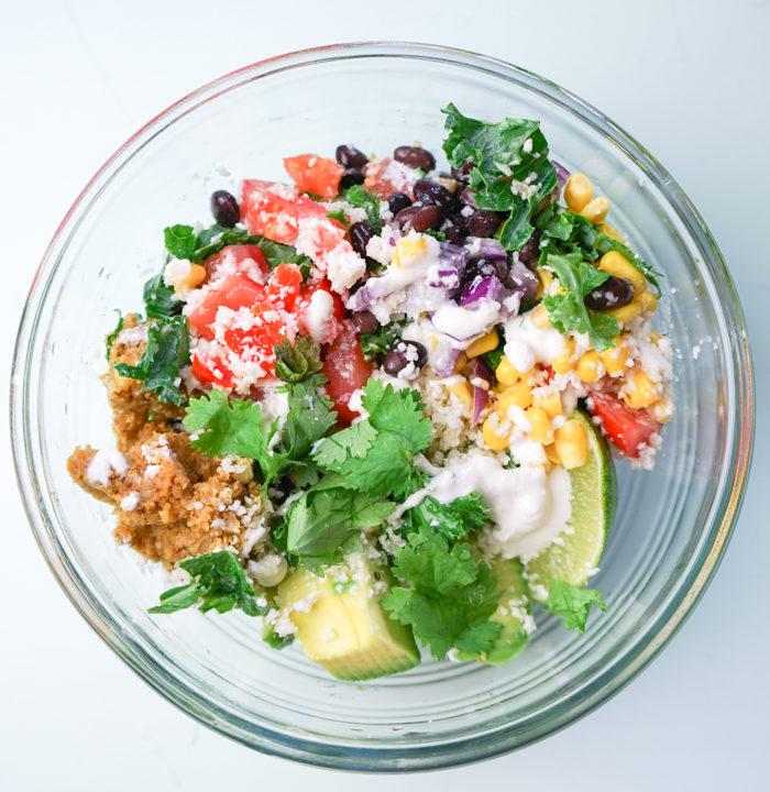 Raw Vegan Mexican Glow Bowl