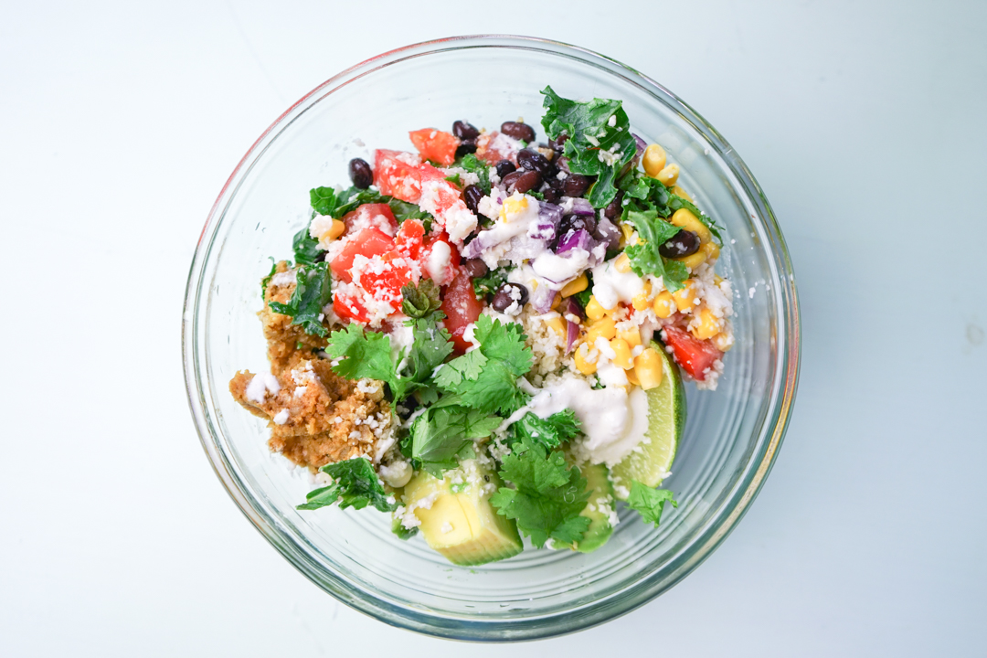 Vegan Mexican Glow Bowl