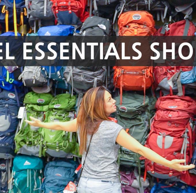 Road Trip Essentials Shopping Haul