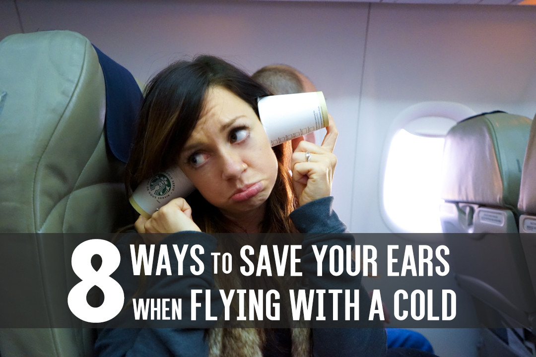 8 Tips For Flying With A Cold