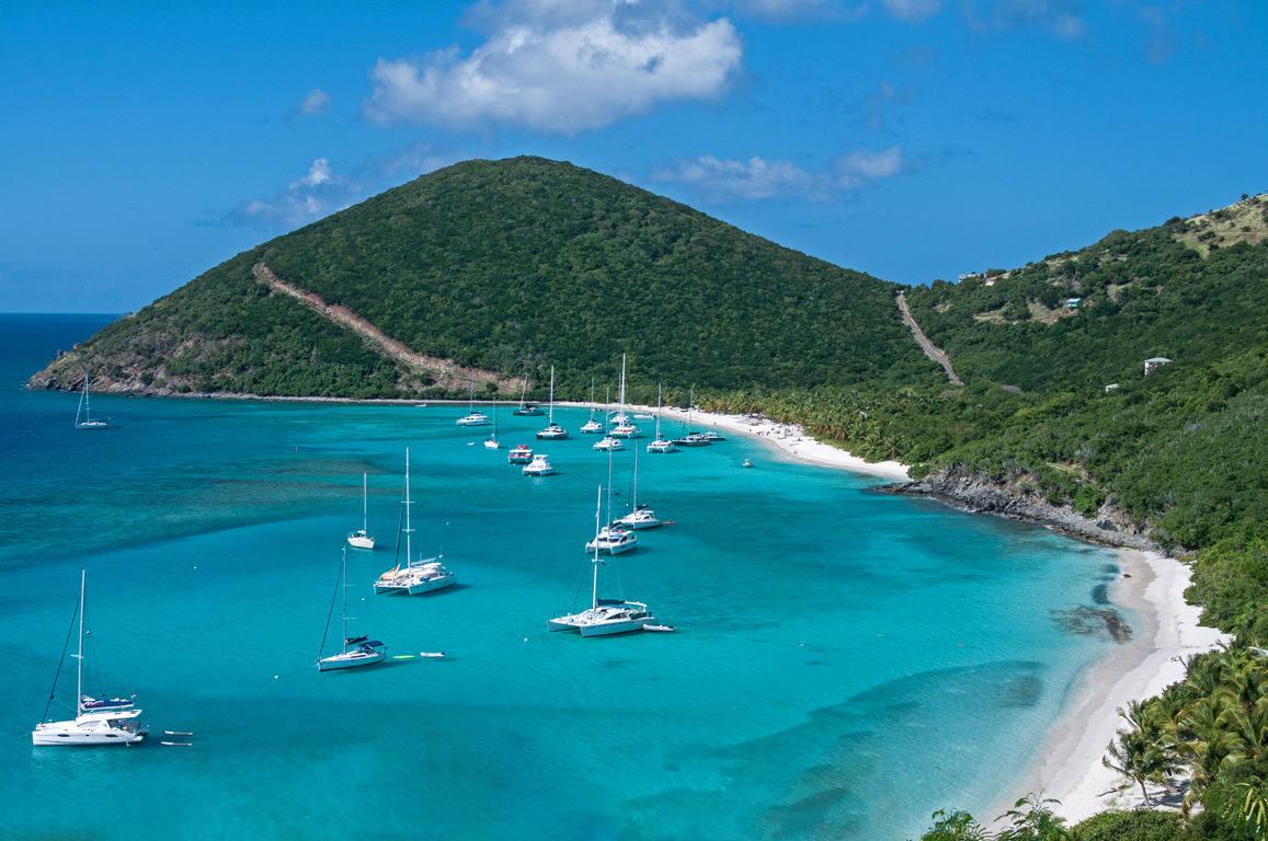 Jost Van Dyke, Caribbean - New Years