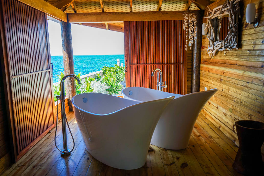 Spa Tub with View