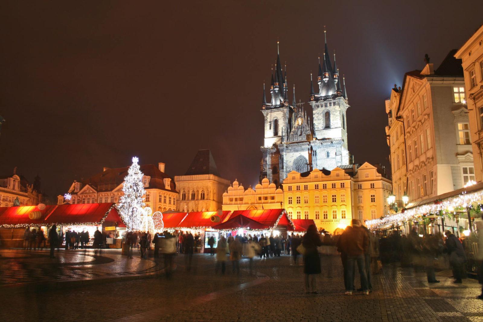 Vánoce Praha Christmas Market