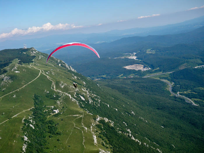 slovenia paraglide