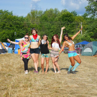 Electric Forest Festival Girls