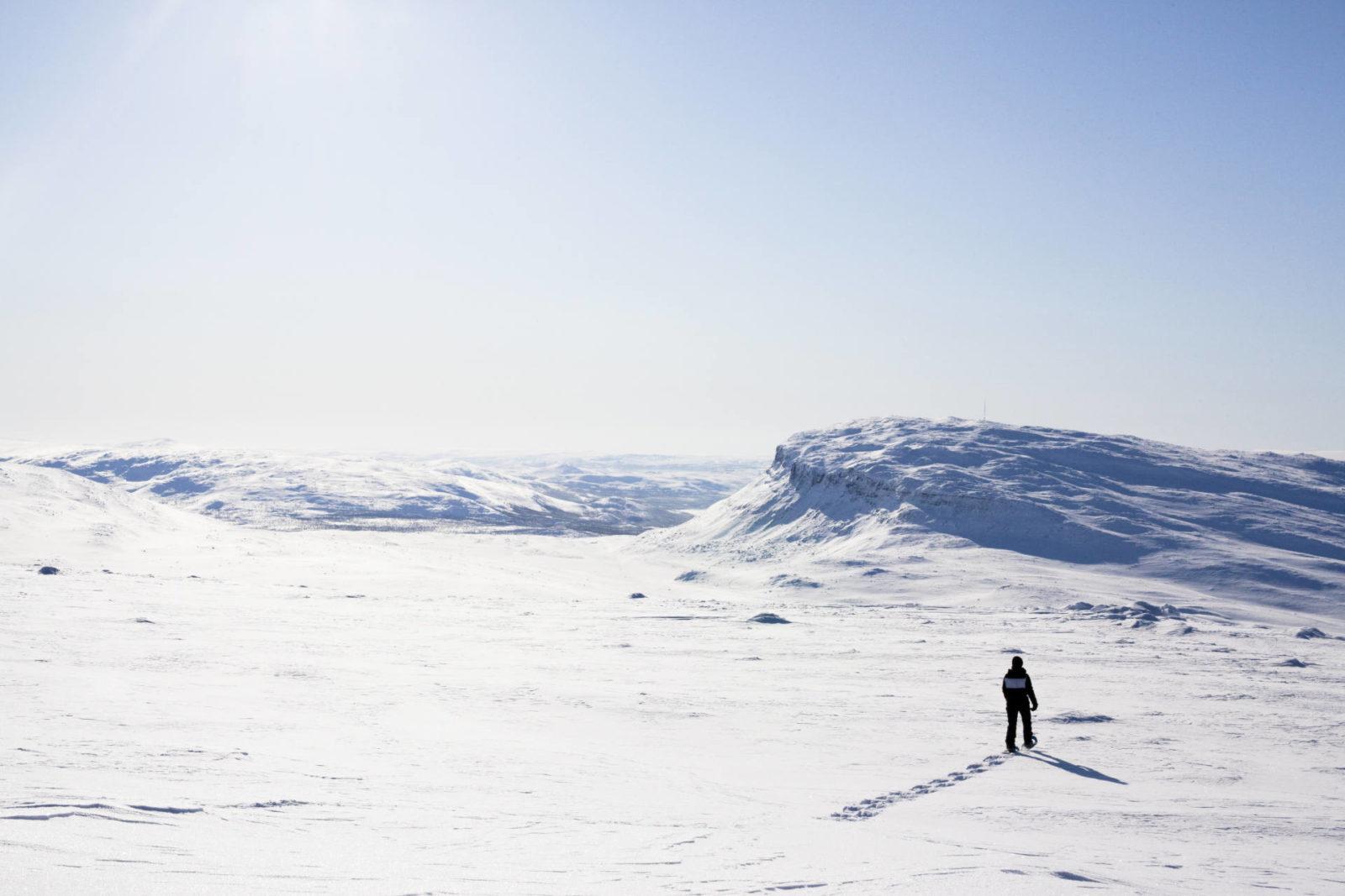 Snowshoeing in Lapland Finland