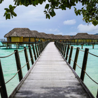 Dealing With Bad Weather On Your Travels Tahiti Bungalow