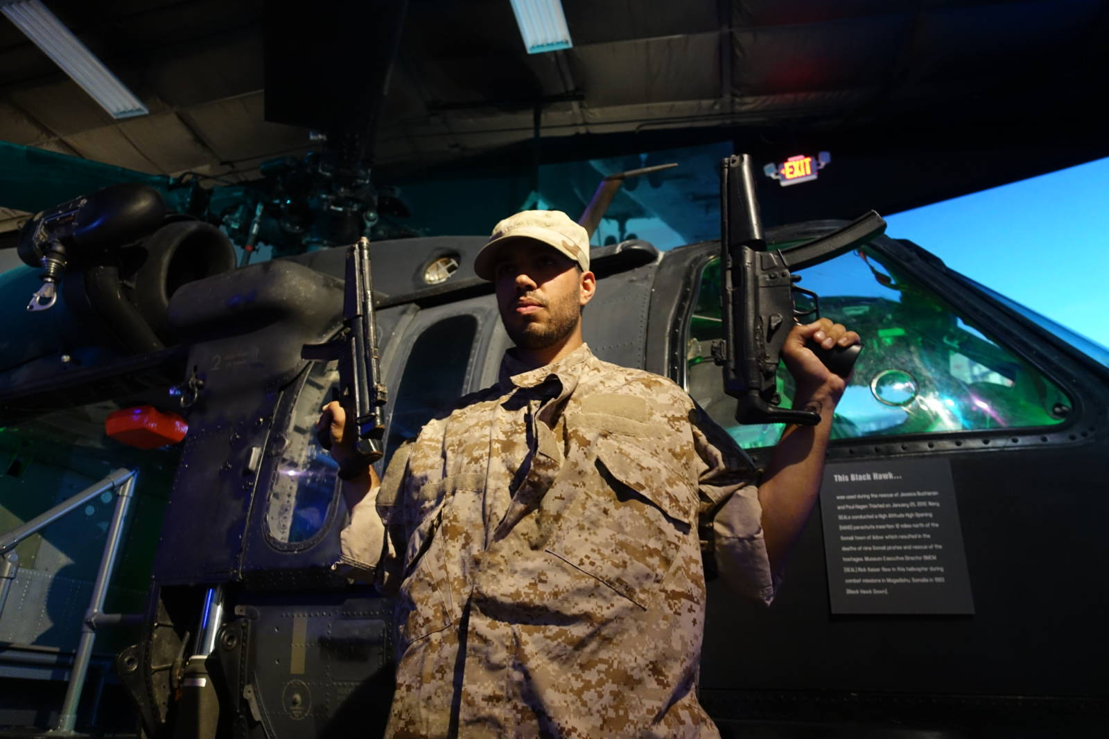 army boy - Navy seal museum