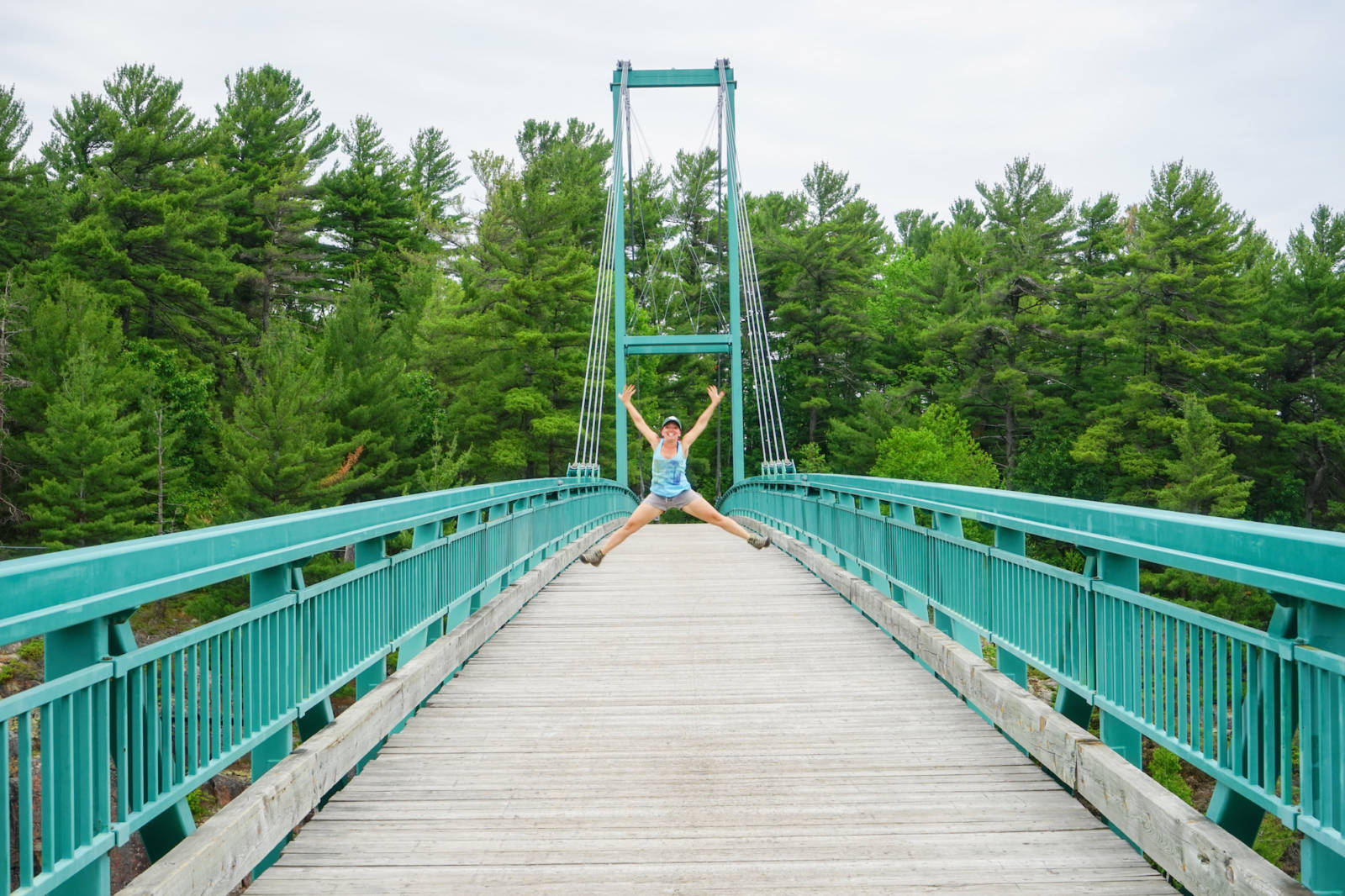 French River Provincial Park Bridge
