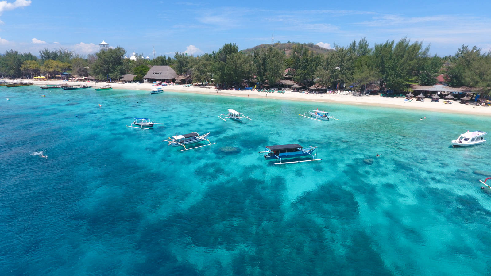 Gili T Indonesia Ocean Water