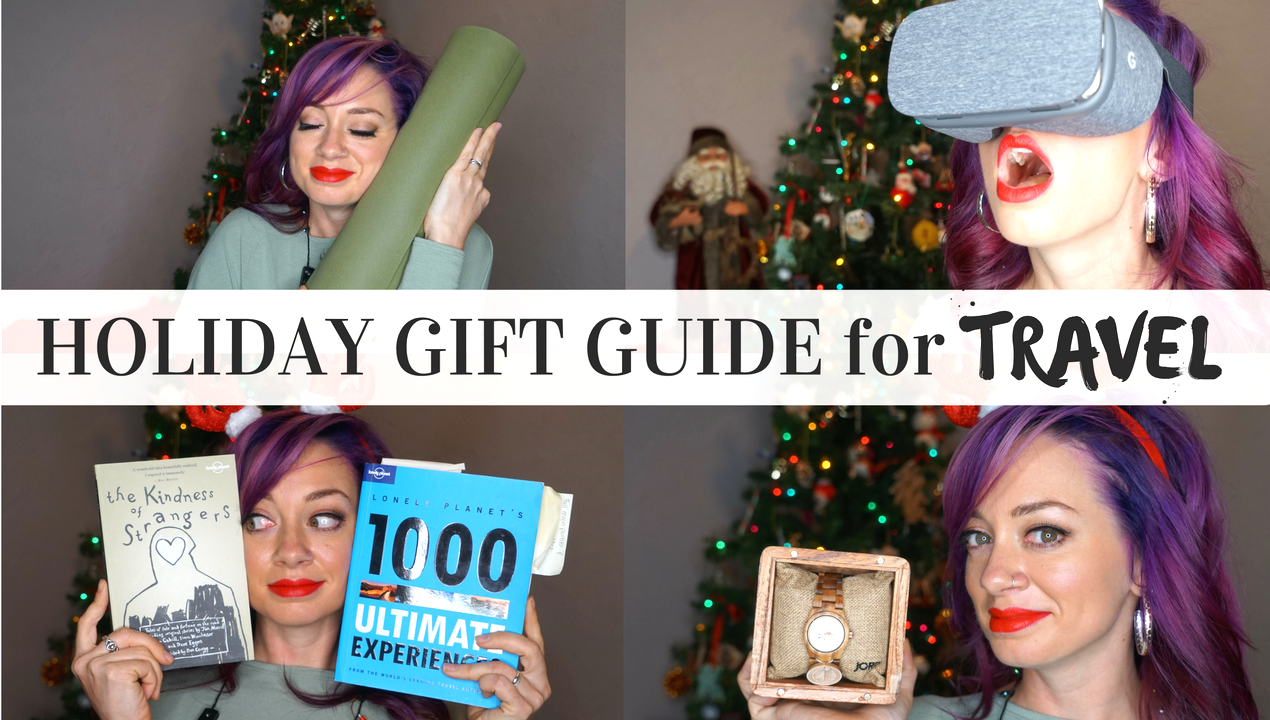 2016 Ultimate Holiday Gift Guide for Travel + GIVEAWAYS