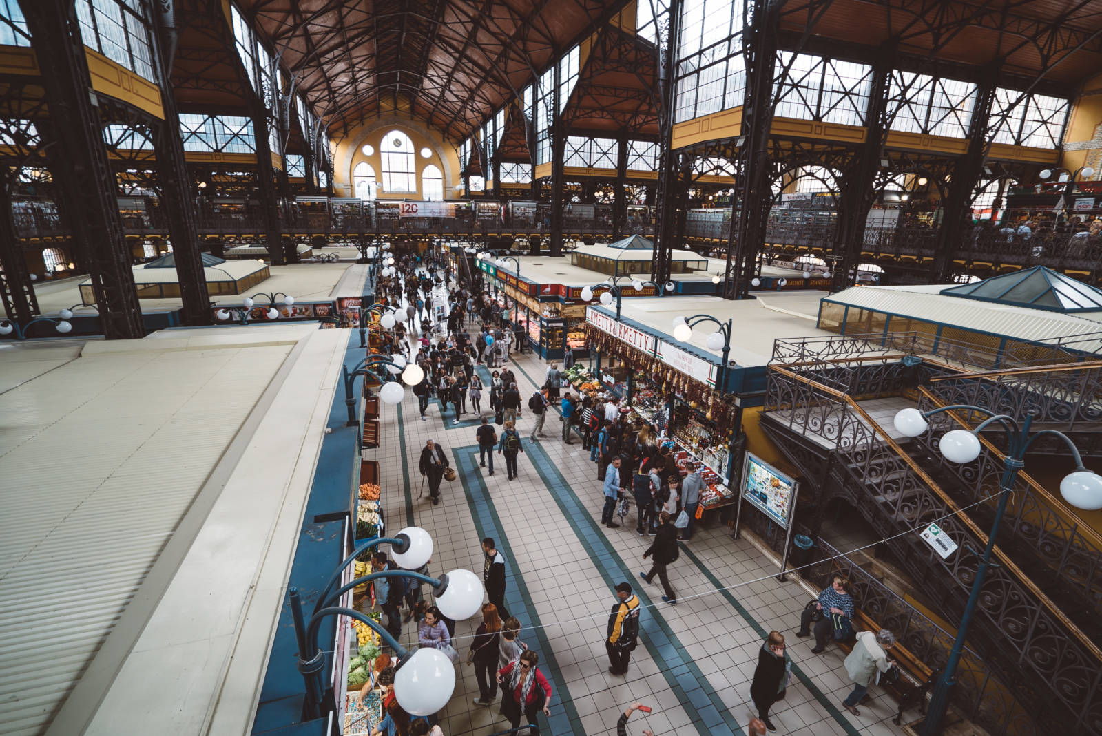 How to Survive Eastern Europe on a Vegan Gluten-Free Diet Budapest Market Square