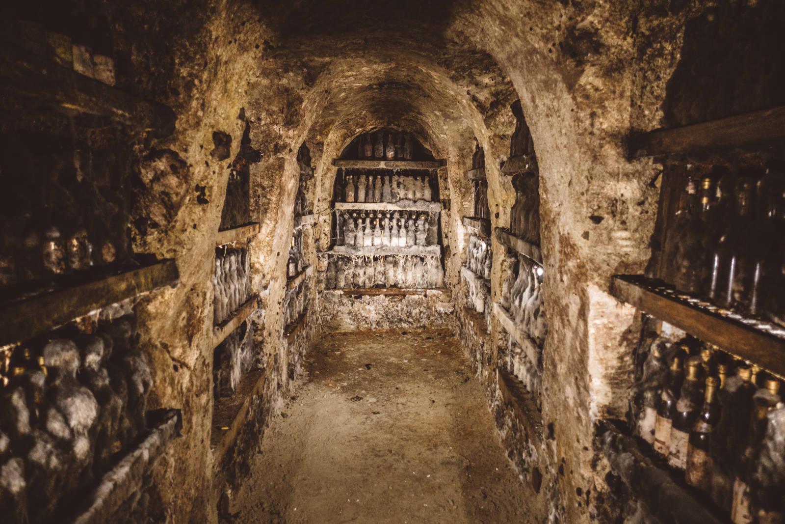 Undergound Wine Cellar Tokaj Slovakia
