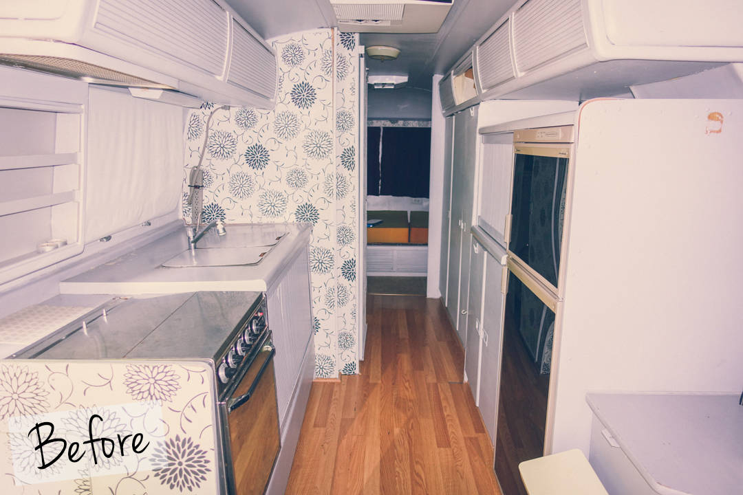 Airstream Renovation Reveal Before and After