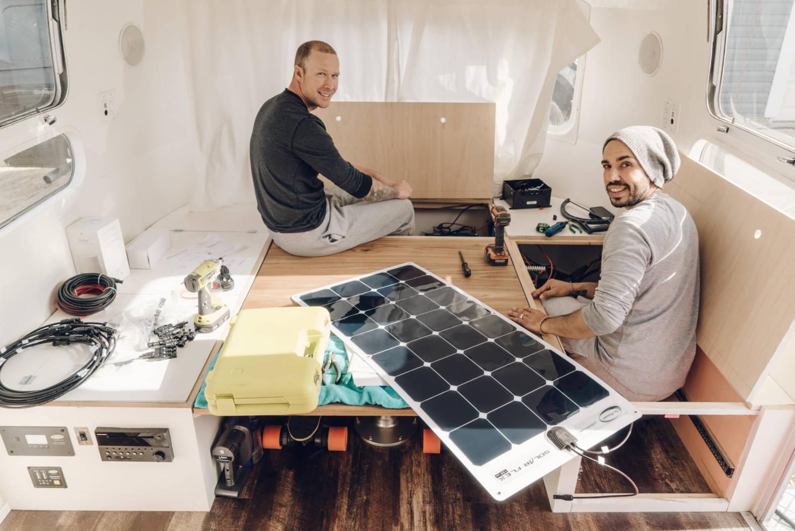 Airstream Cost Solar