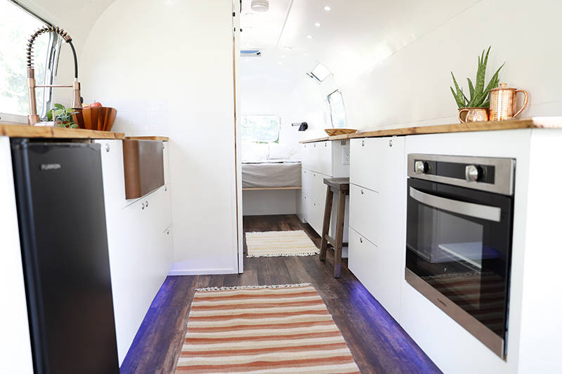 Airstream Renovation Cost Breakdown How Much Did We Pay Amazing Airstream Interior Design