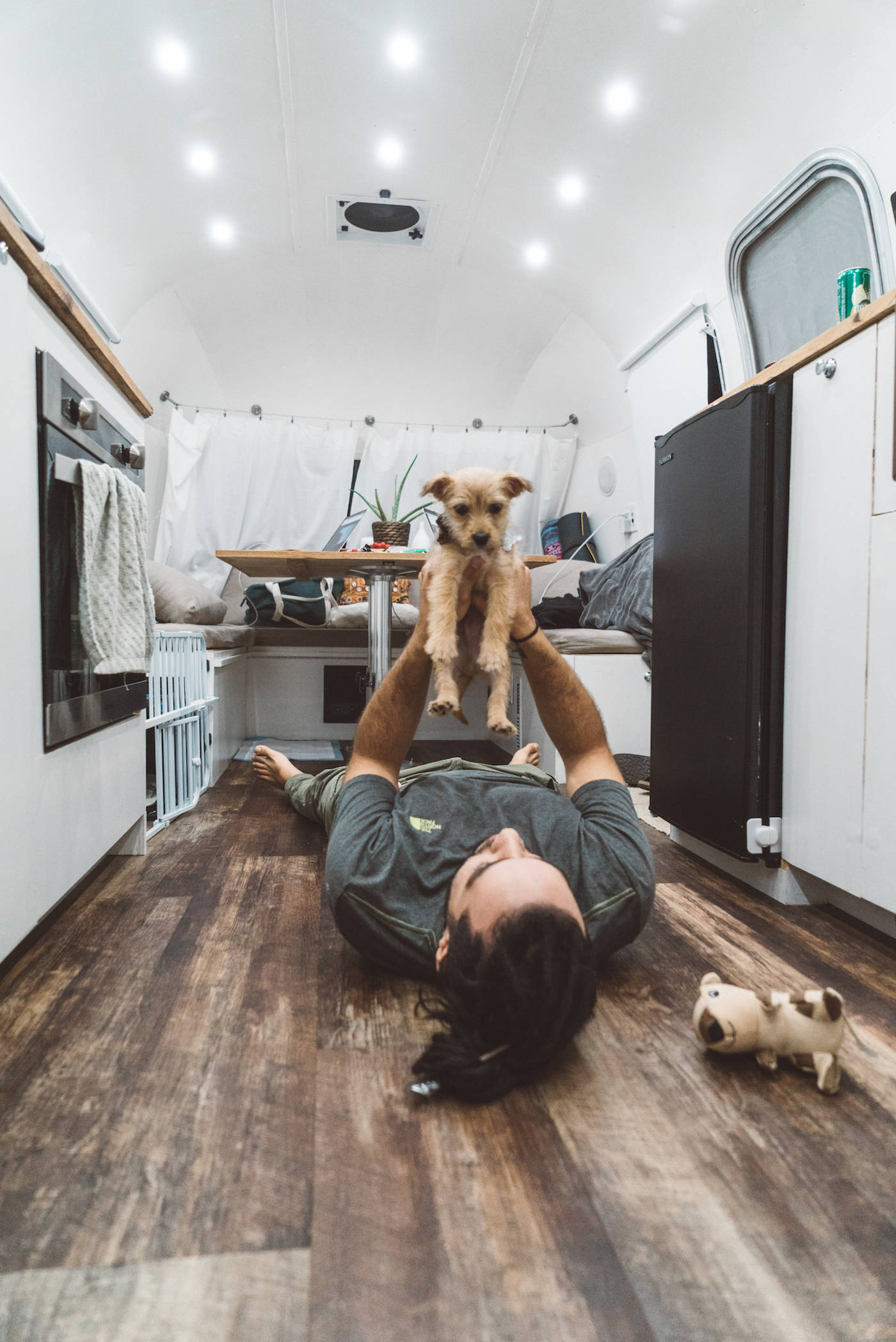 Living with a dog on the road in an RV copy