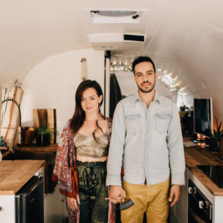 Airstream Kitchen Remodel Tour Tiny House Living