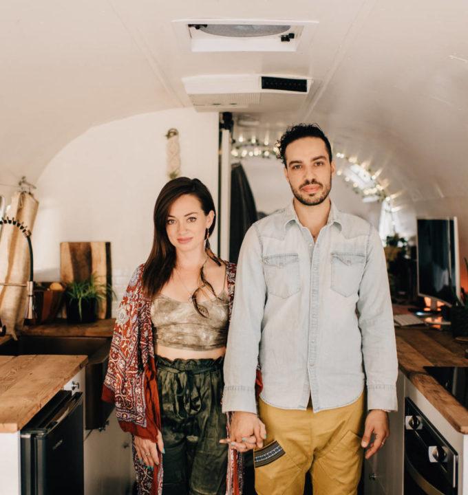 Airstream Kitchen Remodel Tour