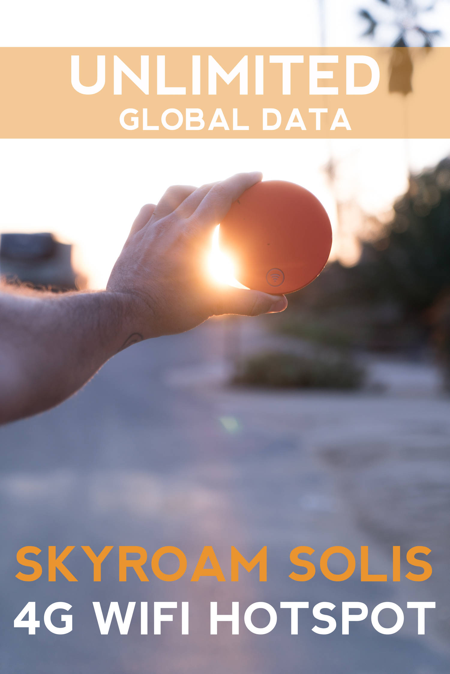 Unlimited Global Data Skyroam Solis 4g Wifi Hotspot