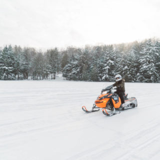Escape the city experience winter Ontario's Highlands
