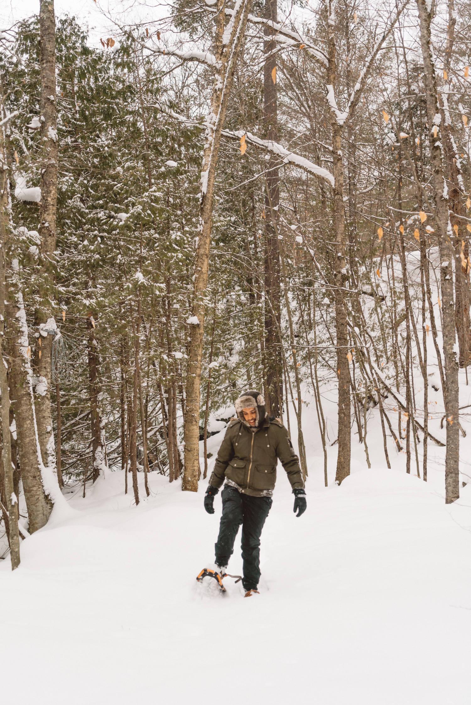 Snow Shoeing Ontario_3