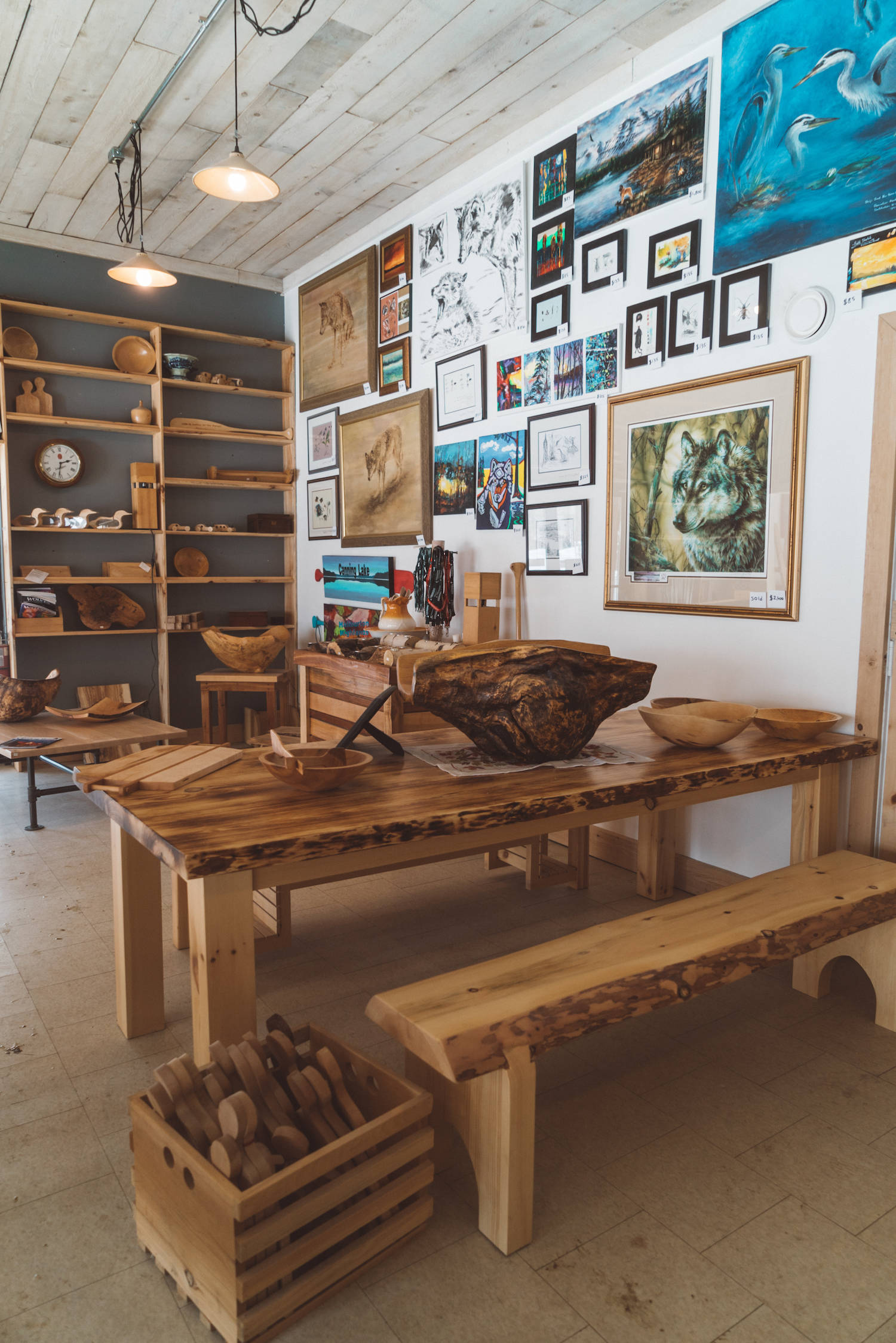 Wood Shop in Haliburton Ontario_2